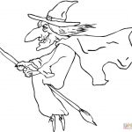 Ugly Old Witch Coloring Page | Free Printable Coloring Pages   Free Printable Pictures Of Witches