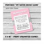 Unique Baby Shower Game Ideas (That Are Actually Fun)   Pass The Prize Baby Shower Game Free Printable