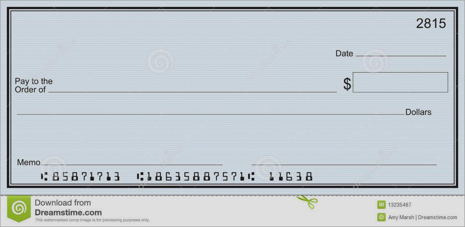 Unique Free Editable Cheque Template   Best Of Template - Free Printable Play Checks