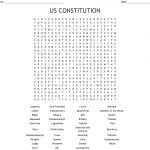 Us Constitution Word Search   Wordmint   Free Printable Us Constitution Worksheets