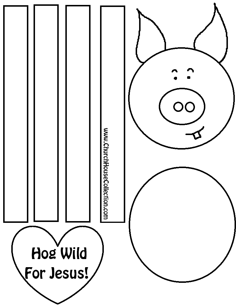 Valentine's Day Sunday School Crafts - Free Printable Sunday School Crafts