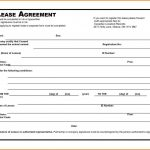Very Basic Rental Agreement 5202 Free Printable Basic Rental   Free Printable Basic Rental Agreement