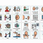 Visual Cue Cards For Use With Autistic Children. Printable And Great   Free Printable Picture Communication Symbols
