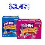 Walmart: Huggies Pull Ups Training Pants Jumbo Pack Just $3.47!   Free Printable Coupons For Huggies Pull Ups