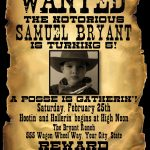 Wanted Poster | Wanted | Salón De Eventos, Salones, Eventos   Free Printable Wanted Poster Invitations
