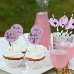 Wedding Or Bridal Shower Cupcake Toppers   Free Printable Cupcake Toppers Bridal Shower