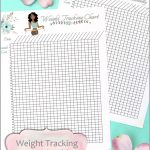 Weight Tracking Chart Free Printable Worksheet – Smart And Savvy Mom   Printable Weight Loss Charts Free