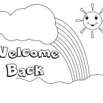 Welcome Back Coloring Pages To Print | Free Coloring Pages   Welcome Home Cards Free Printable
