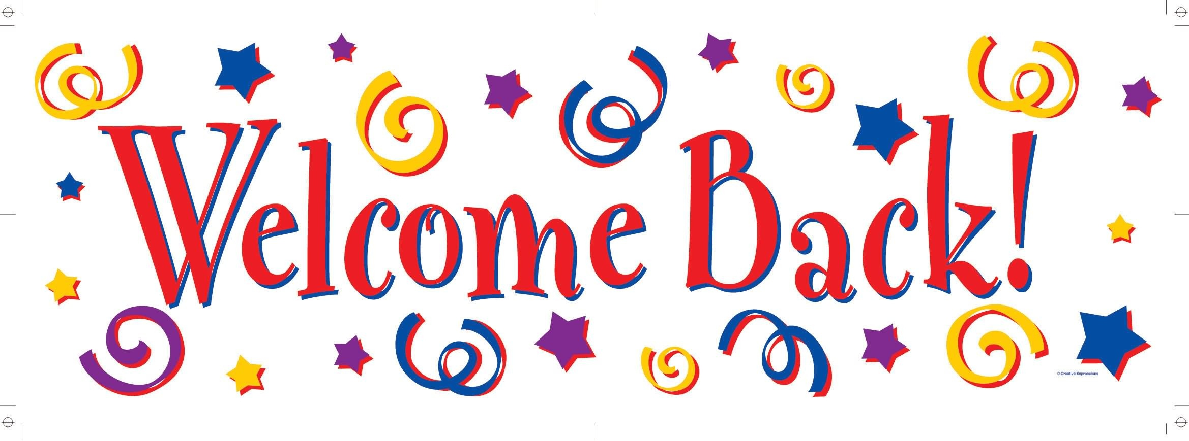 Welcome Back Sign Free | Free Download Best Welcome Back Sign Free - Welcome Back Banner Printable Free