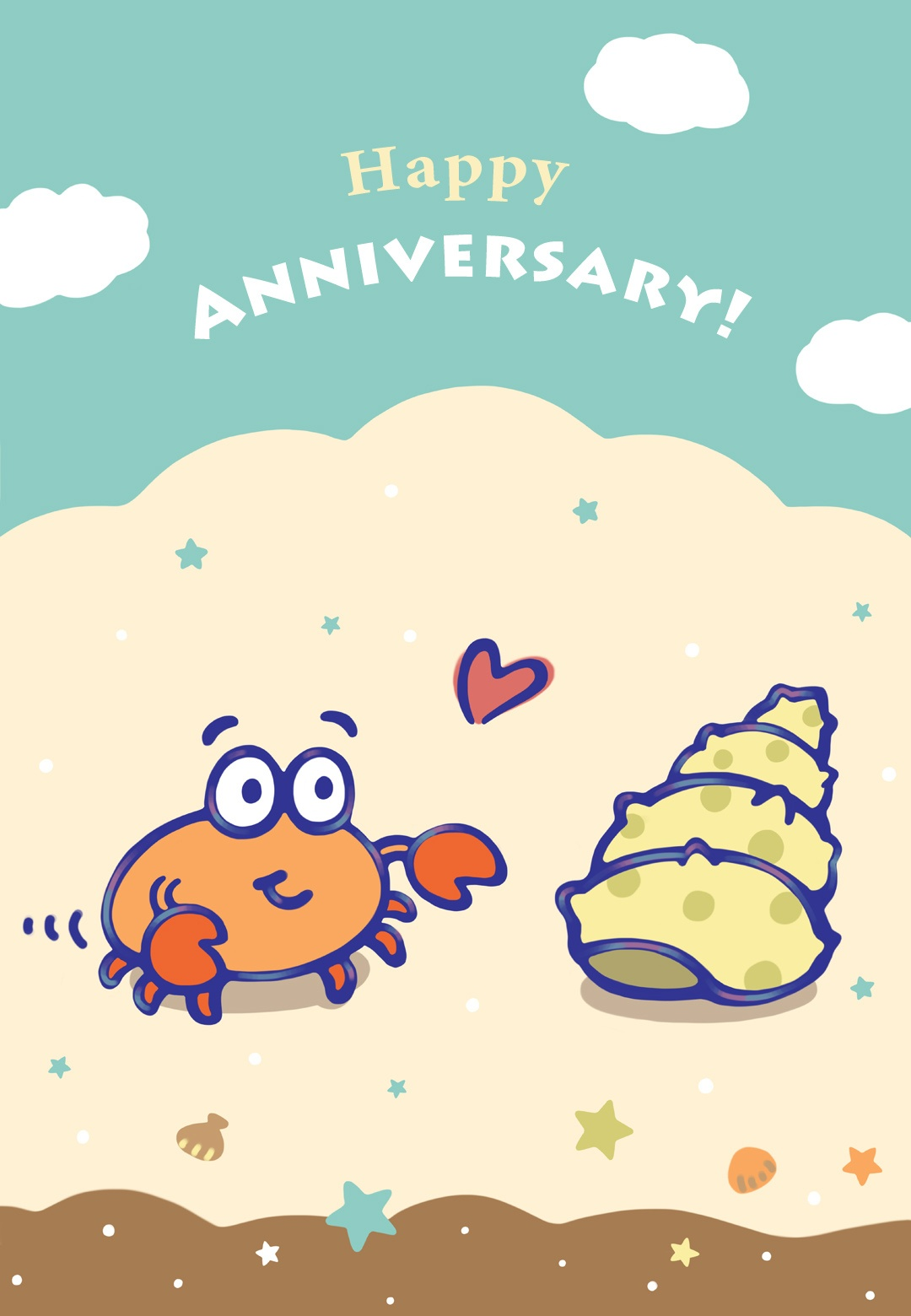When I Found You - Happy Anniversary Card (Free) | Greetings Island - Free Printable Anniversary Cards