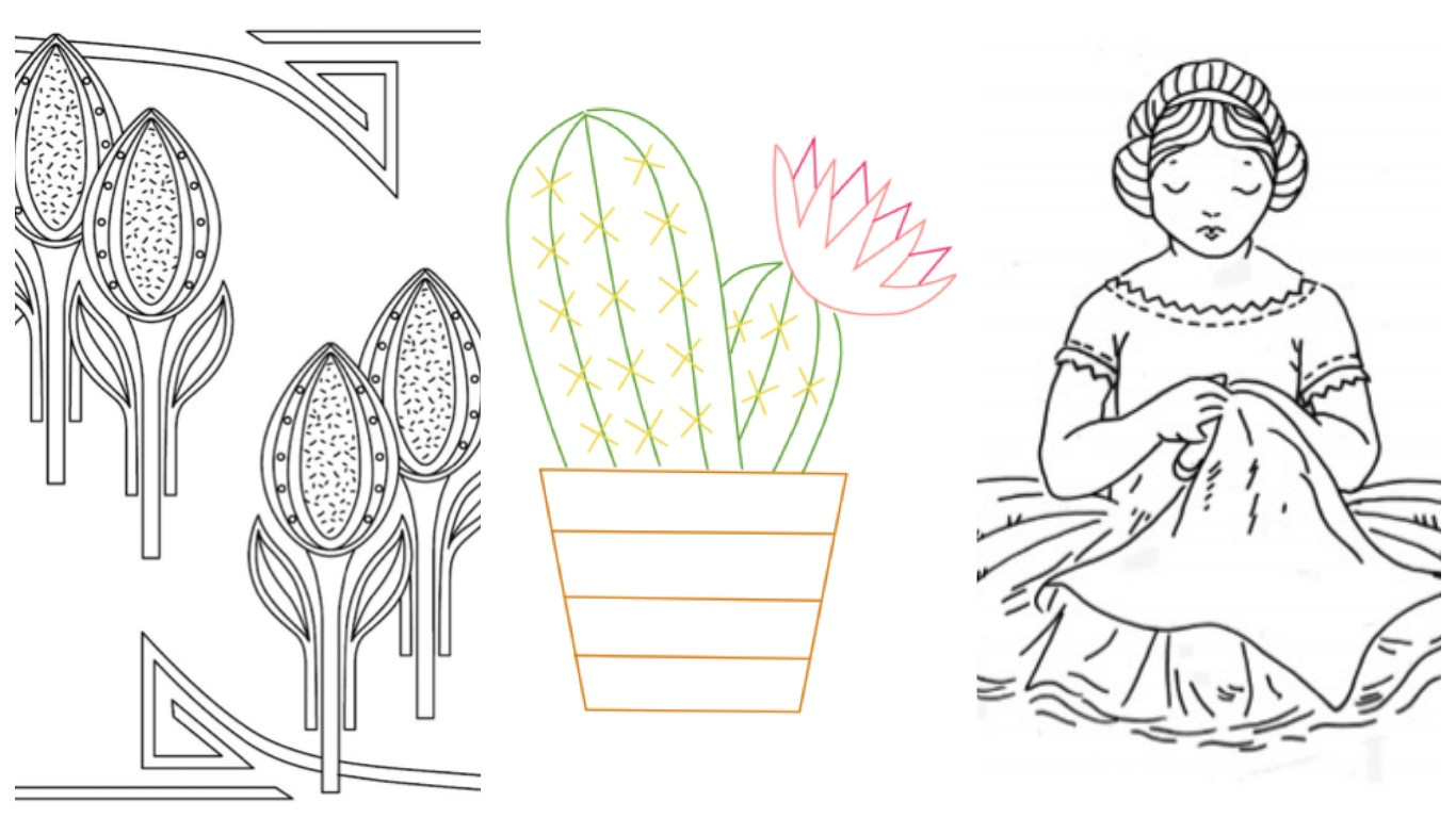 Where To Find Free Hand Embroidery Patterns - Free Printable Embroidery Patterns