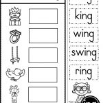 Word Family Ing Phonics Practice Printables   Kindergarten Tales   Free Phonics Readers Printable