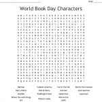 World Book Day Characters Word Search   Wordmint   Word Search Maker Free Printable