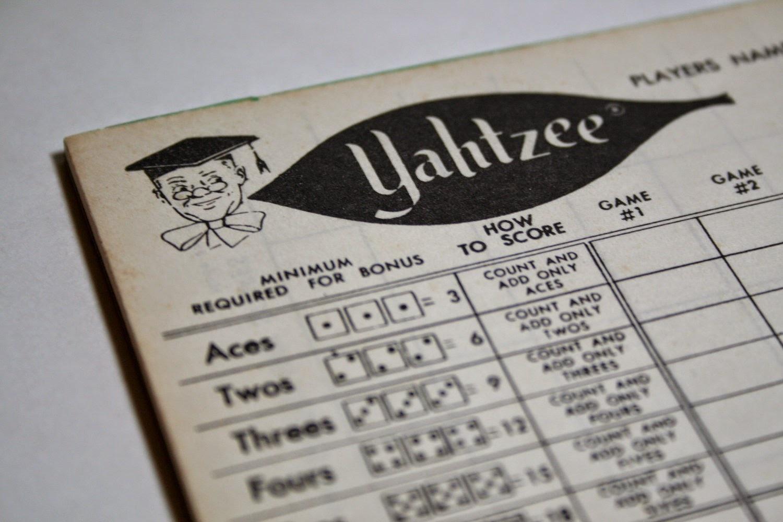 Yahtzee Online: Printable Yahtzee Score Sheet - Free Printable Yahtzee Score Sheets