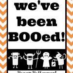 You've Been Booed! Mason Jar Gift & Free Printables | The Happier   We Ve Been Booed Free Printable