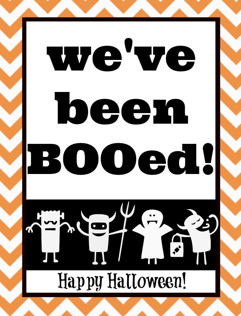 You've Been Booed! Mason Jar Gift & Free Printables | The Happier - We Ve Been Booed Free Printable