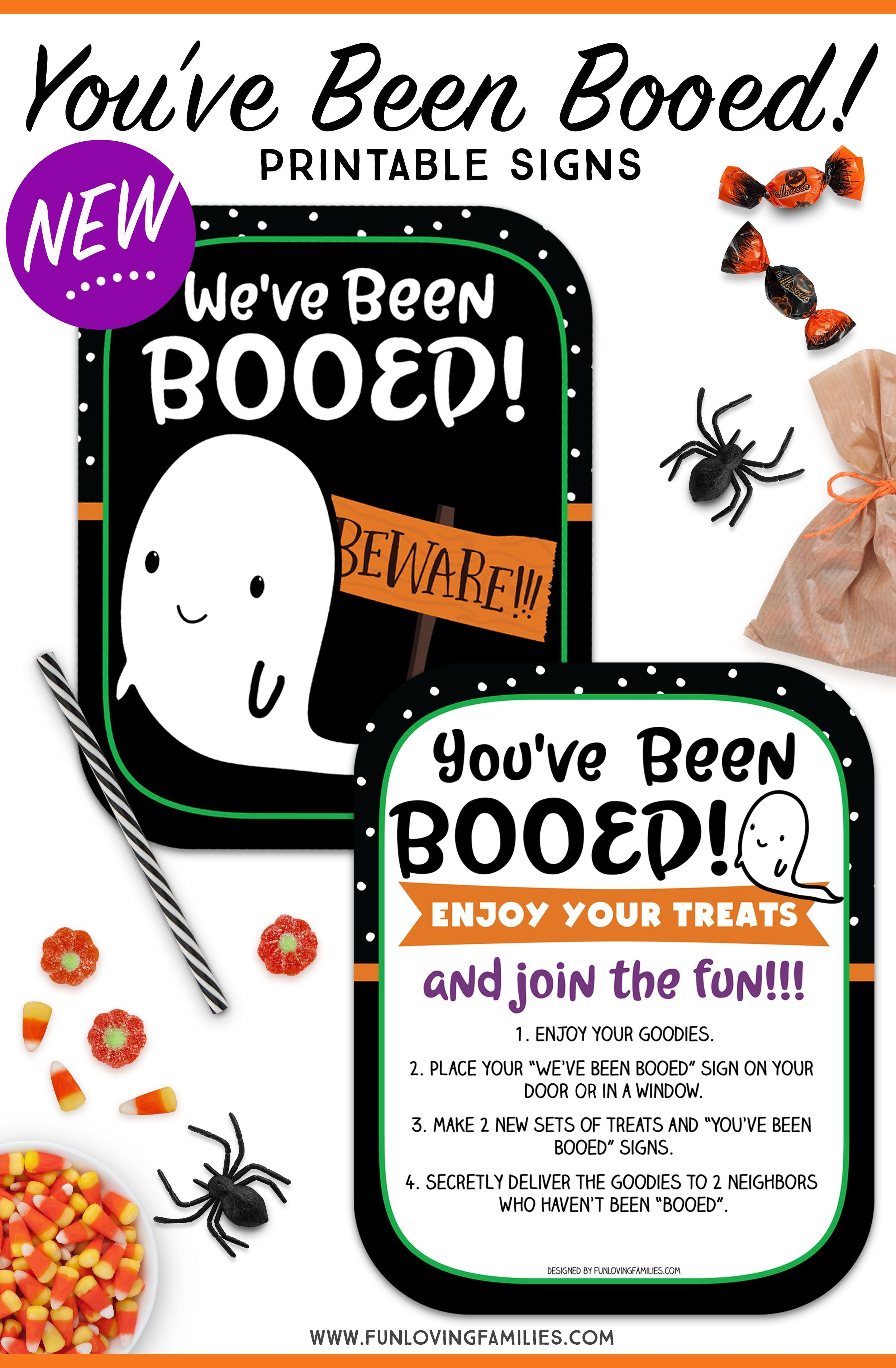 You've Been Booed Printable Signs - Super Cute And Totally Free - We Ve Been Booed Free Printable