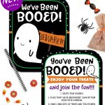You've Been Booed Printable Signs   Super Cute And Totally Free   You Ve Been Booed Free Printable