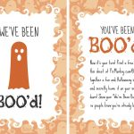 You've Been Booed Printables | Picmonkey Blog   We Ve Been Booed Free Printable
