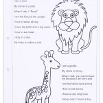 Zoo Animals Worksheet   This Worksheet Is Designed To Teach The   Free Printable Zoo Worksheets