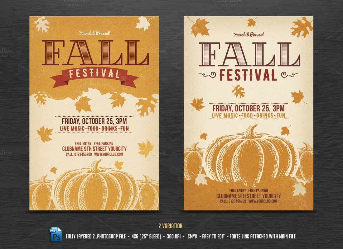 002 Fall Festival Flyers Templates Template Ideas Awful School Flyer - Free Printable Fall Festival Flyer Templates