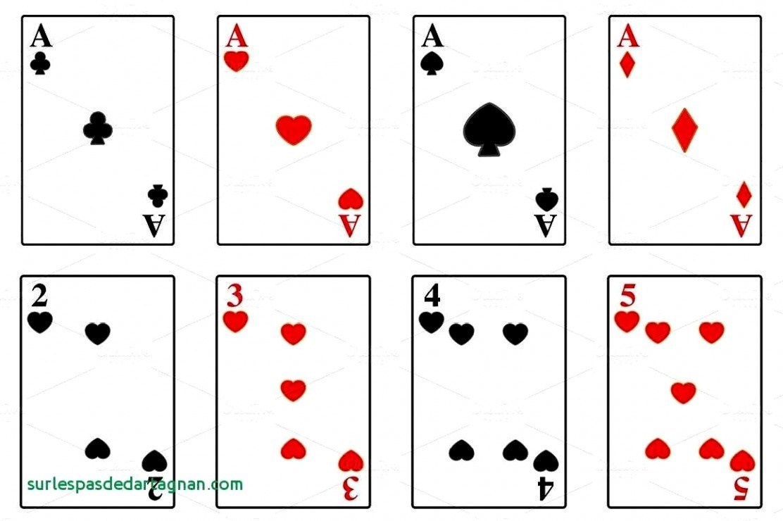 012 Deck Of Cards Template Ideas Blank Playing Printable Beautiful - Free Printable Deck Of Cards