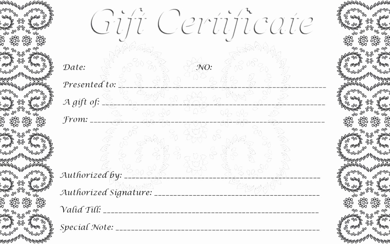 012 Free Printable Gift Certificate Templates Template Ideas Card - Free Printable Gift Certificates