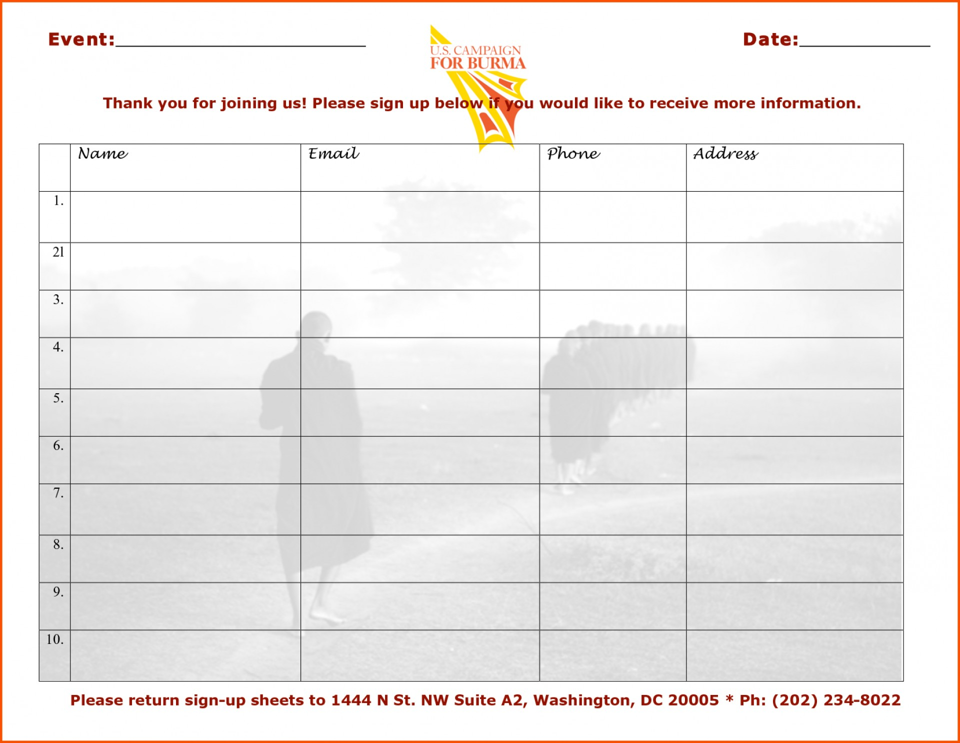 013 Event Sign In Sheet Template Survey Words Word Templates Free Up - Free Printable Sign In Sheet