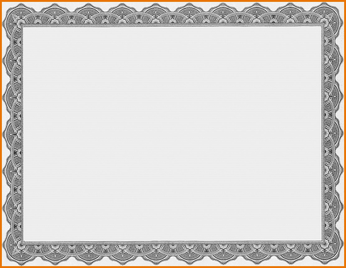 013 Template Ideas Free Printable Certificate Templates Borders For - Free Printable Certificates