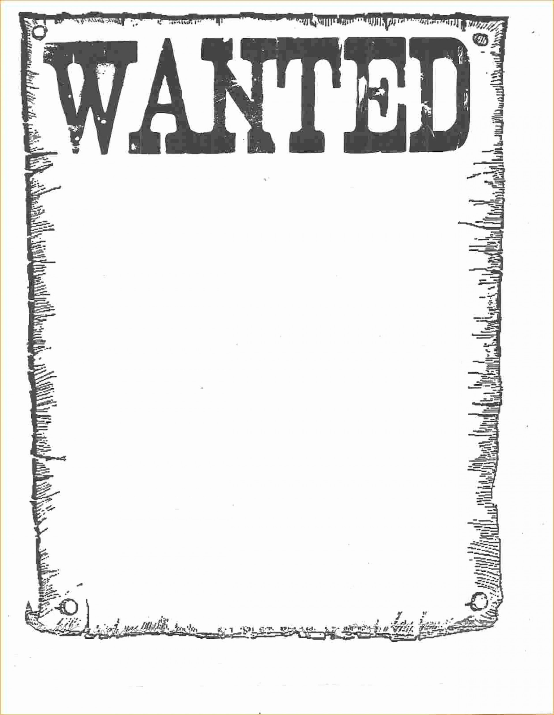 013 Template Ideas Wanted Poster Microsoft Word Free Printable - Wanted Poster Printable Free