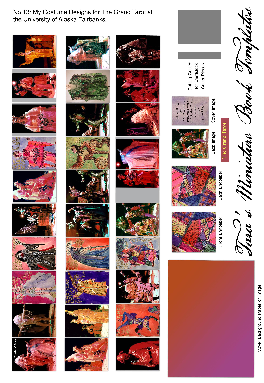 013_Grandtarot1 | Taramaginnis - Free Printable Miniature Book Covers