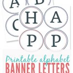 023 Free Printable Alphabet Letters Banner Template Ideas   Printable Banner Letters Template Free
