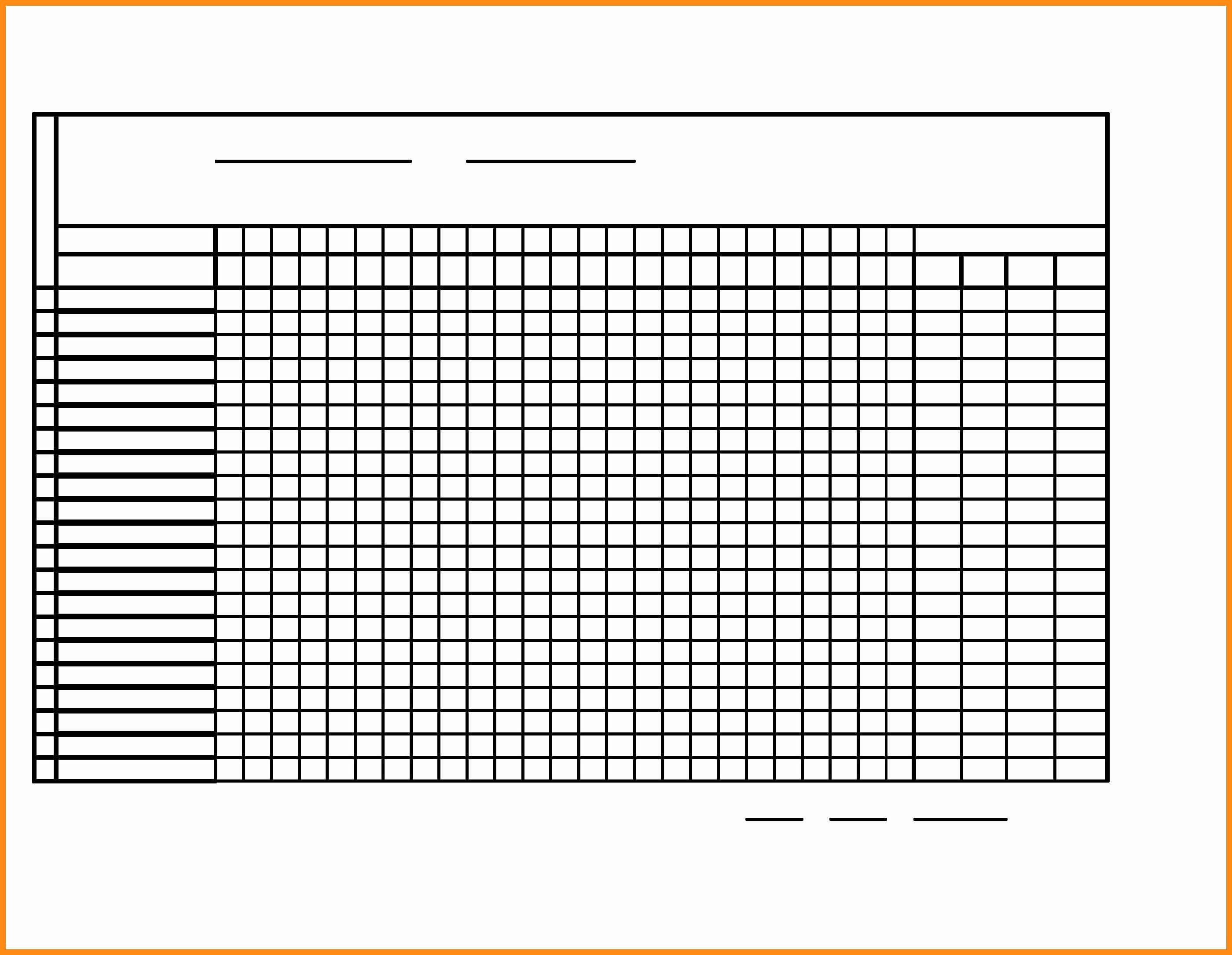 10-11 Attendance Chart Templates | Elainegalindo - Sunday School Attendance Chart Free Printable