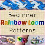 10 Beginner Rainbow Loom Patterns + Video Tutorials   Free Printable Loom Bracelet Patterns
