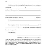10 Best Images Of Eviction Notice Florida Form Blank Template Via 3   Free Printable 3 Day Eviction Notice