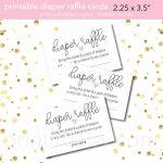 10+ Diaper Raffle Wording Ideas (Diaper Raffle Tickets Too)   Free Printable Baby Shower Diaper Raffle Tickets