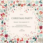 10 Free Christmas Party Invitations That You Can Print   Free Printable Christmas Party Signs