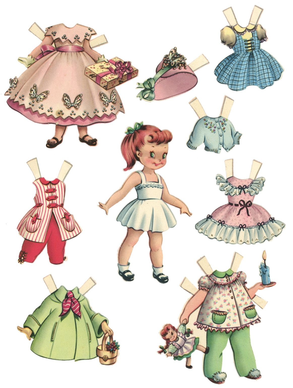 10 Free Printable Paper Dolls | Paper Dolls | Paper Dolls Printable - Free Printable Paper Dolls From Around The World