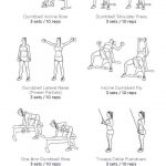 10 Free Printable Workouts To Get Fit Anywhere | Brit + Co   Free Printable Workout Routines