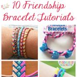 10 Friendship Bracelet Tutorials • Fyitina | Diy & Crafts   Free Printable Friendship Bracelet Patterns