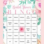 10 Printable Bridal Shower Games You Can Diy   Wedding Ideas   Free Printable Bridal Shower Blank Bingo Games