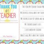 10 Teacher Gift Ideas W/ Free Printable Gift Tags   Hip2Save   Printable Thangles Free