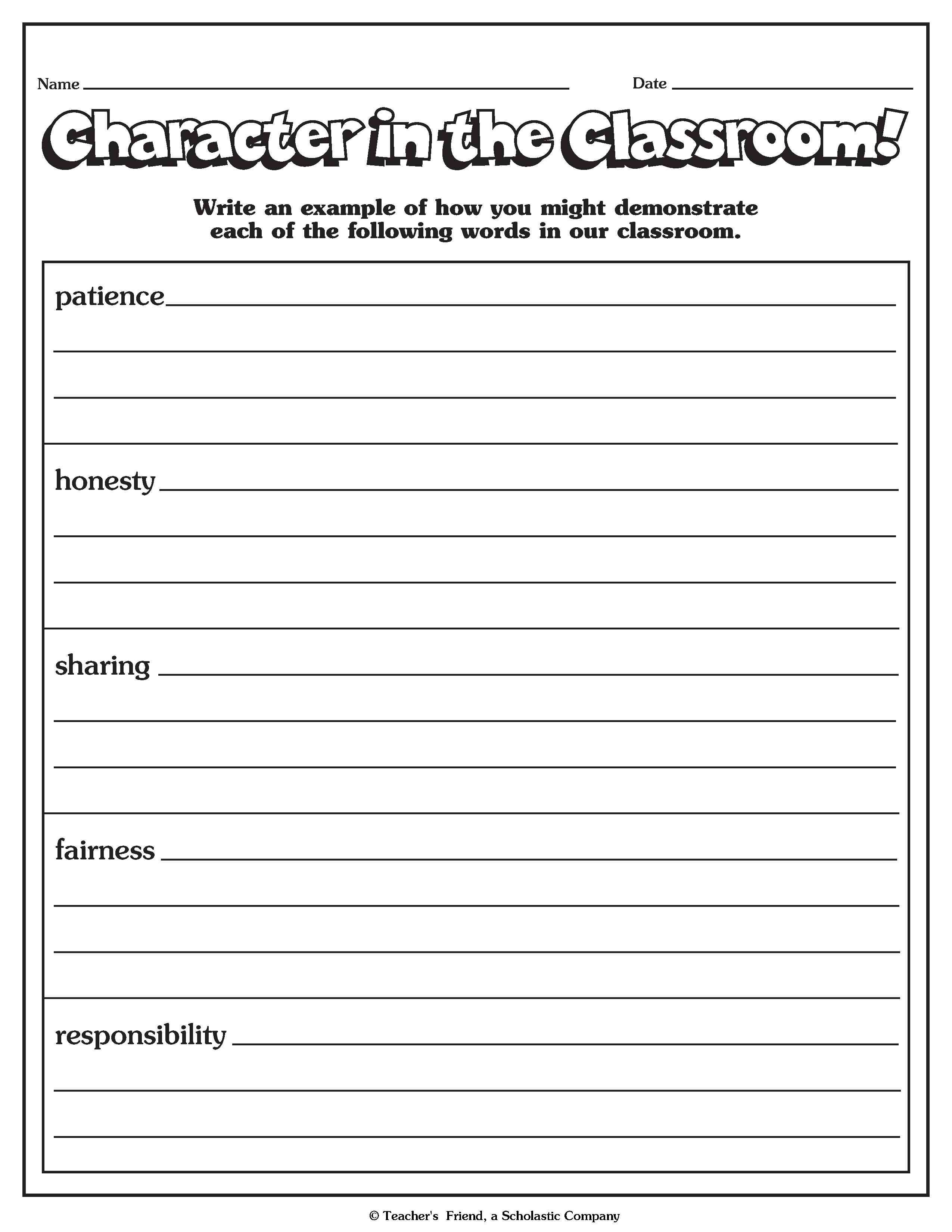 100 Read Alouds For Character Building + Free Printable Building - Free Printable Economics Worksheets