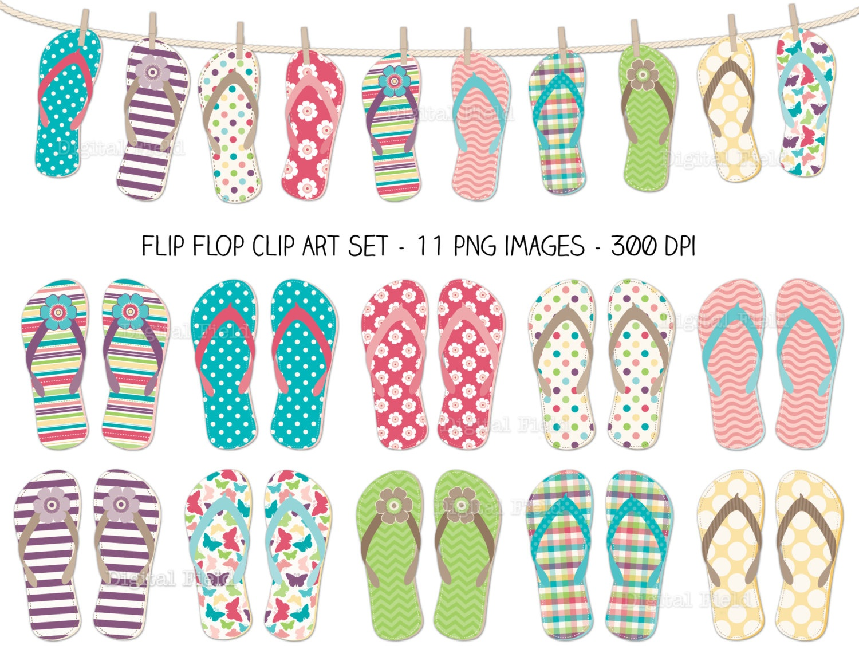 101+ Printable Clip Art | Clipartlook - Free Printable Flip Flop Pattern