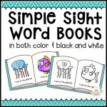 104 Simple Sight Word Books In Color & B/w   The Measured Mom   Free Printable Books For Kindergarten