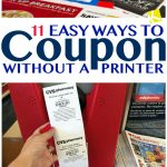 11 Easy Ways To Coupon Without A Printer   The Krazy Coupon Lady   Free Printable Coupons Without Downloading Coupon Printer