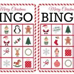 11 Free, Printable Christmas Bingo Games For The Family   Free Christmas Bingo Game Printable