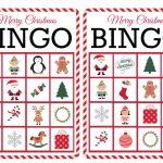 11 Free, Printable Christmas Bingo Games For The Family   Free Printable Bingo Games