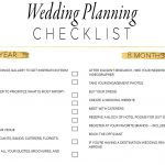 11 Free, Printable Wedding Planning Checklists   Free Printable Wedding Checklist