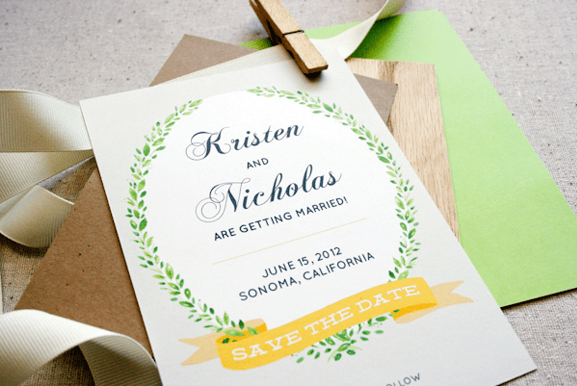 11 Free Save The Date Templates - Free Printable Save The Date
